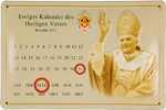 26476 Blechschild Sakral Kalender Benedikt XVI (30x20cm) Nitsche