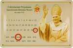 26477 Blechschild Sakral Calendarium Benedikt XVI (30x20cm) Nitsche