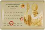 26478 Blechschild Sakral Calendario Benedikt XVI (30x20cm) Nitsche